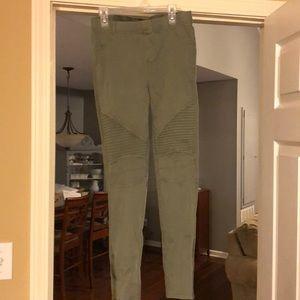 Pants - Green leggings